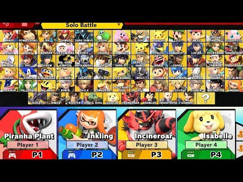 Super Smash Bros Ultimate - How to Unlock All Characters thumbnail
