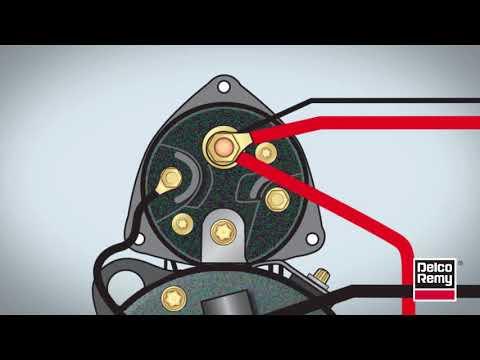 diagnosing starter cranking problems borgwarner delco remy Delco Electronics Radio Wiring Diagram
