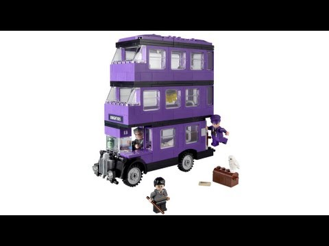 Lego Harry Potter 4866 The Knight Bus Youtube