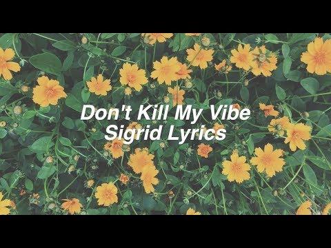 Don't Kill My Vibe || Sigrid Lyrics