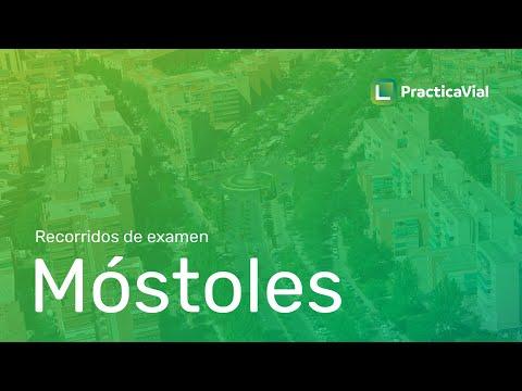 Recorrido de examen en MÓSTOLES. Consejos para aprobar en zona de examen.