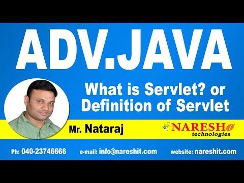 What is Servlet? | Advanced Java Tutorial | Mr. Nataraj