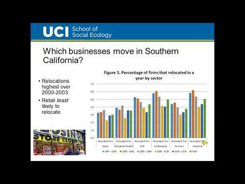 Business Relocations in Southern California - August 2017