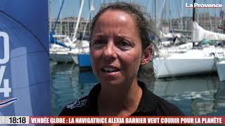 Vendée Globe : Alexia Barrier veut courir pour la planète