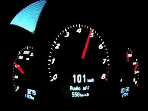 2010 Porsche Cayman PDK 0-100 acceleration