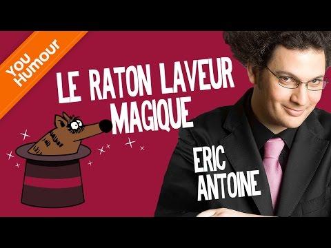 ERIC ANTOINE - Le raton-laveur magique