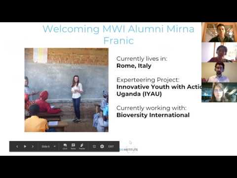 Alumni story and team introductions - MovingWorlds Institute