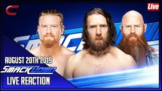 WWE SmackDown August 20th 2019 Live Stream: Live Reaction Conman167
