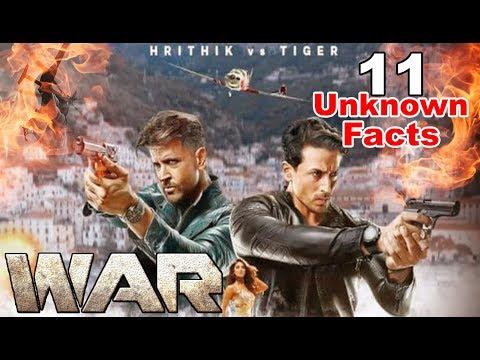 War Movie | 11 UNKNOWN FACTS | Hrithik Roshan | Tiger Shroff | Vaani Kapoor | Siddharth Anand