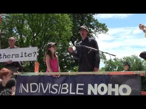 John Bonifaz Speaks Rally for Truth: Northampton, MA (6/3/17)