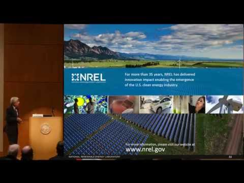 Dr. Dan E. Arvizu, Director of NREL, Energy Frontiers 2015 Keynote Address