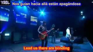 Wonderwall  -  Oasis  ( SUBTITULADO EN ESPAÑOL & INGLES LYRICS SUB LETRAS )
