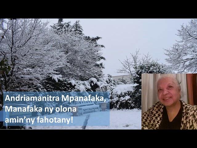 VEHIVAVY MATAHOTRA AN'I JEHOVAH FRANCE-ANDRIAMANITRA MPANAFAKA