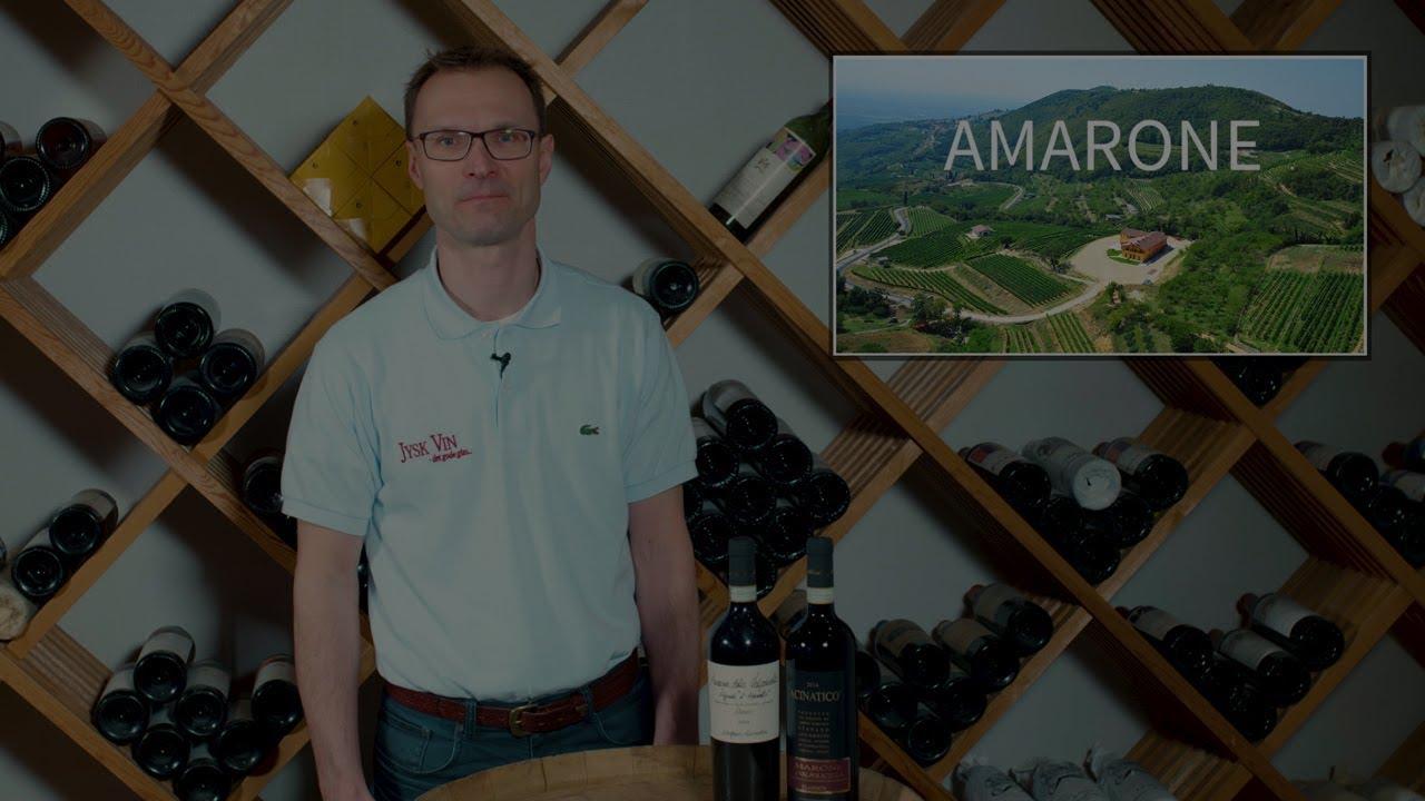 Hvorfor er Amarone-vine unikke?