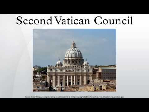 The Second Vatican Council - Assignment Example