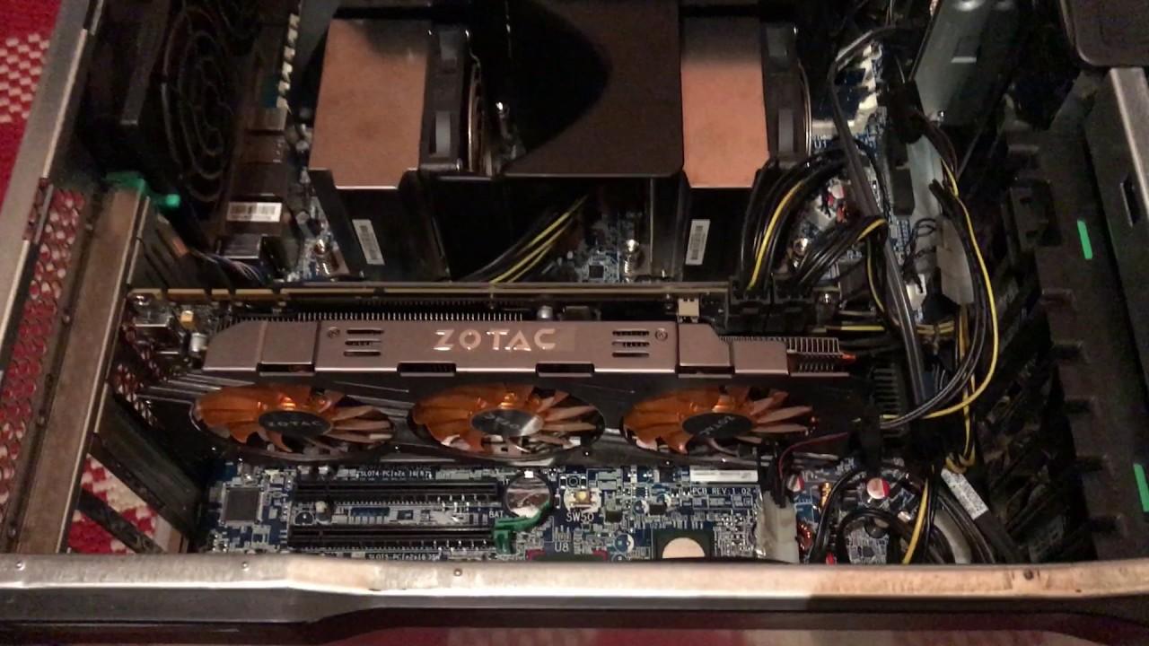 Inside the HP Z800