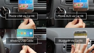 4 Ways to Connect your Android Phone to Car Stereo with GROM