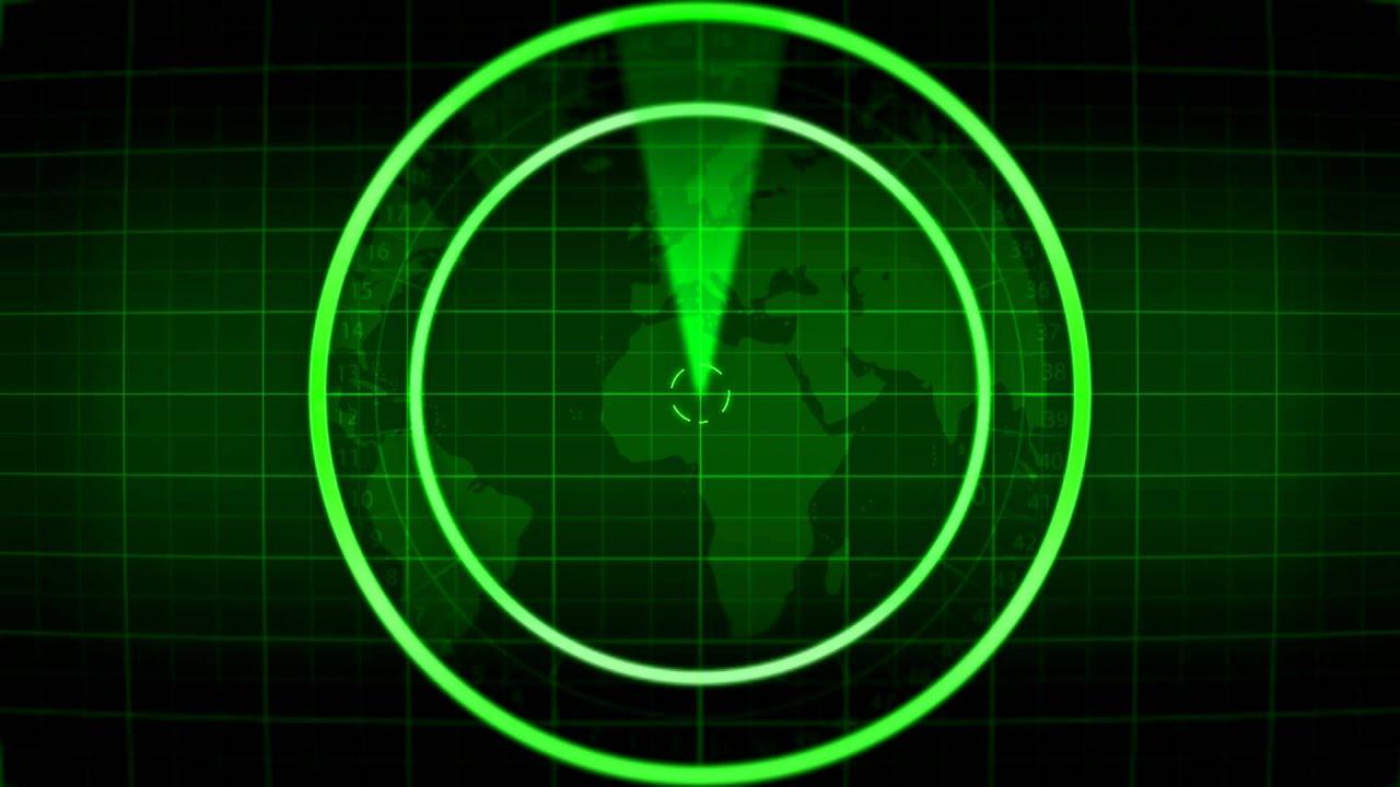 A Blank Radar Royalty Free Footage Youtube
