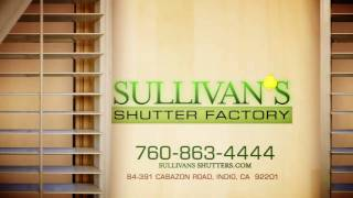 Sullivan's Shutters - 30 Second Commercial