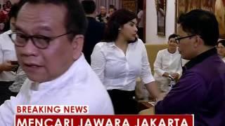kedatangan pasangan agus yudhoyono sylviana murni ke kpud dki jakarta breaking news 23 09