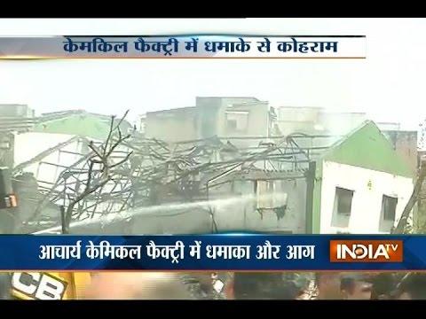 3 Killed in Blast in Chemical Factory at Dombivili in Mumbai