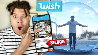 Buying The Most Expensive Items on Wish!!