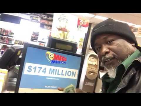 $174 Megamillion lottery. 3/31/17