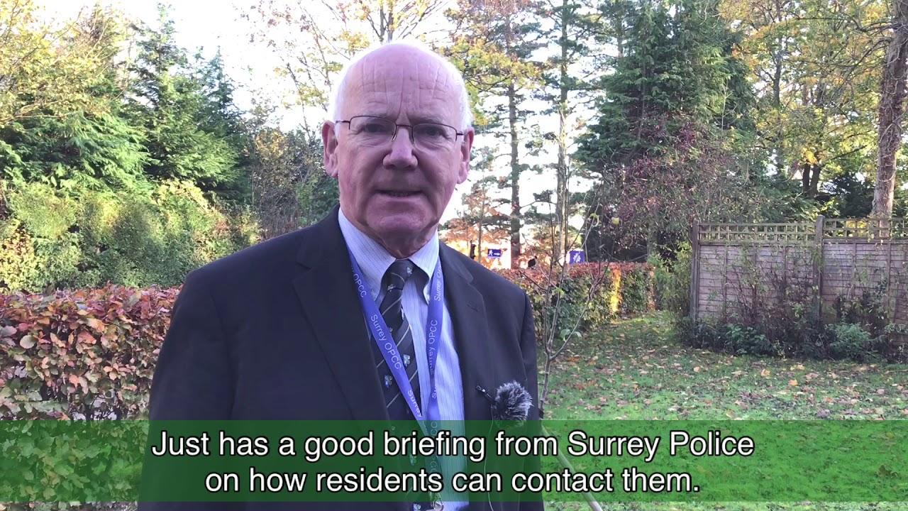 New Ways of Contacting Surrey Police