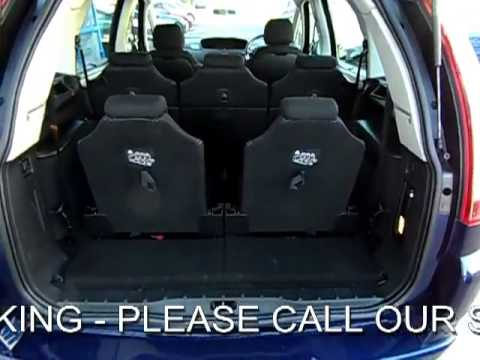for sale citroen c4 grand picasso 1 6 hdi vtr plus diesel. Black Bedroom Furniture Sets. Home Design Ideas