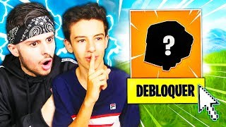 """MY PETIT FREE ME DEBLOQUE THE SECRET OBJET OF THE """"NEW CITY"""" ON FORTNITE! Incredible... 😱"""