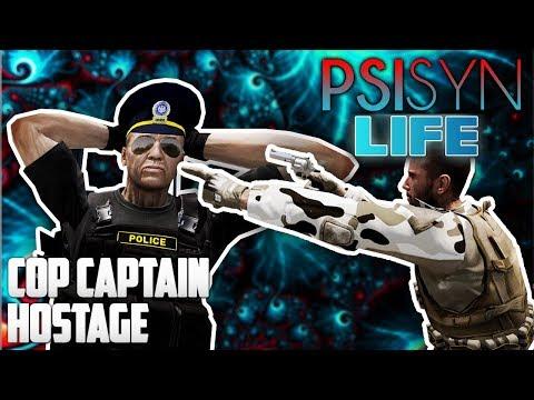 ARMA 3: PsiSyn Life — Cop Captain Suicide Vest Hostage!