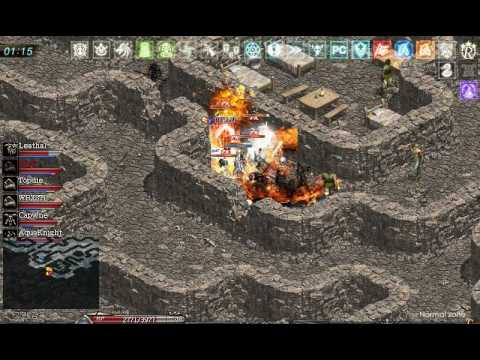 Lineage Zero ..Giran dungeon Fight