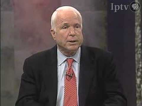 John McCain discusses U.S. policy in Iran