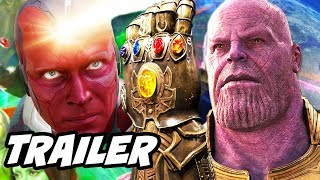 Avengers Infinity War Trailer - Avengers 4 Infinity Stone Theory