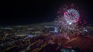 Салют в Перми - 9 мая 2017