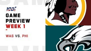Washington Redskins vs. Philadelphia Eagles | Week 1 Game Preview | Move the Sticks