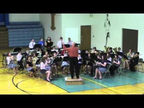 Danby-Rush Tower Middle School Cadet Band - Rattlesnake!