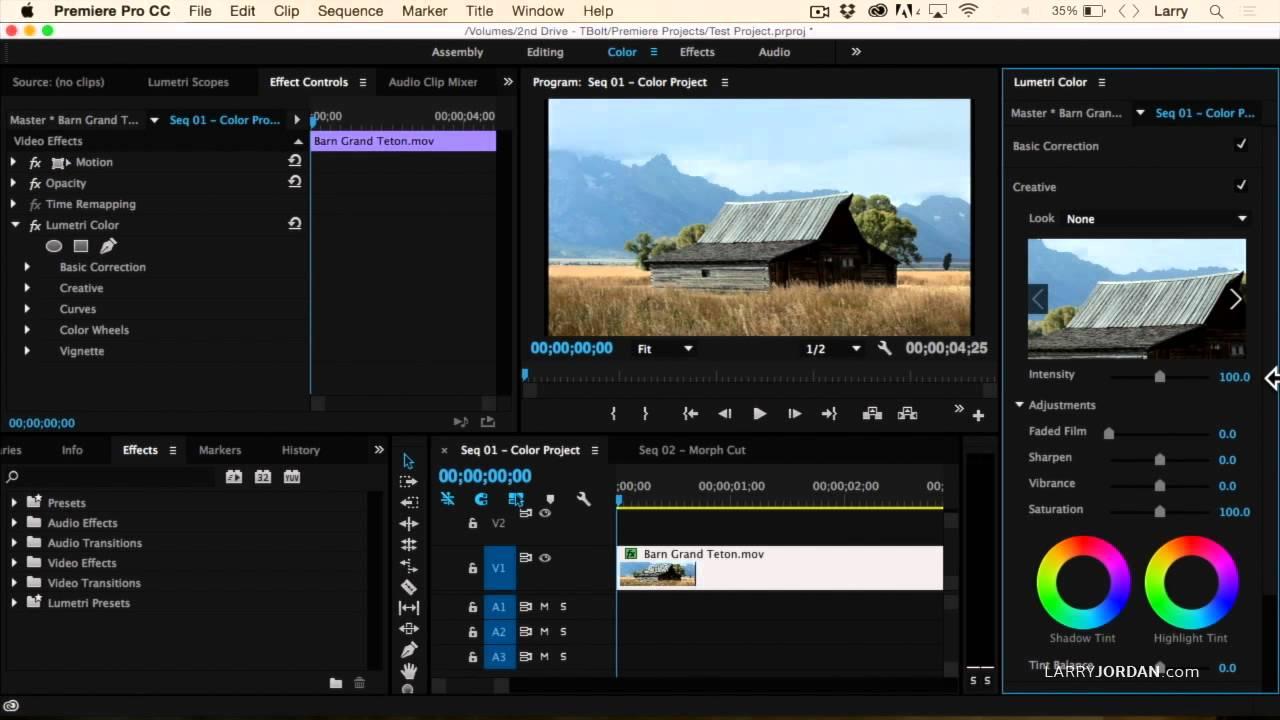 Color adobe online - Adobe Premiere Pro Cc 2015 New Video Scopes And Lumetri Color Panel Youtube