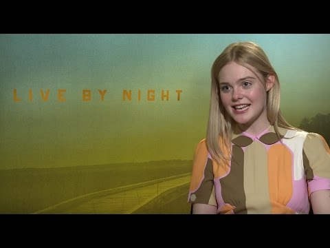 LIVE BY NIGHT: Backstage with Elle Fanning