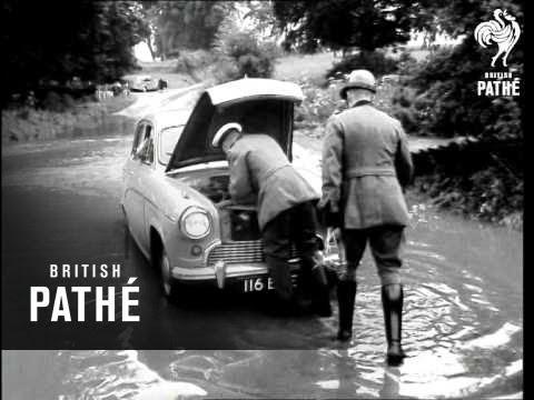 essex floods 1958