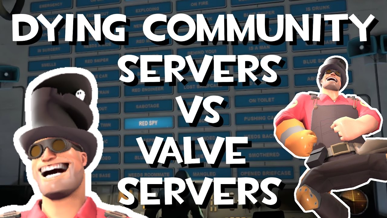 TF2: How community servers were good and Casual isn't