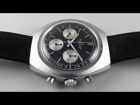 Steel Breitling Ref. 1450 vintage wristwatch, circa 1975