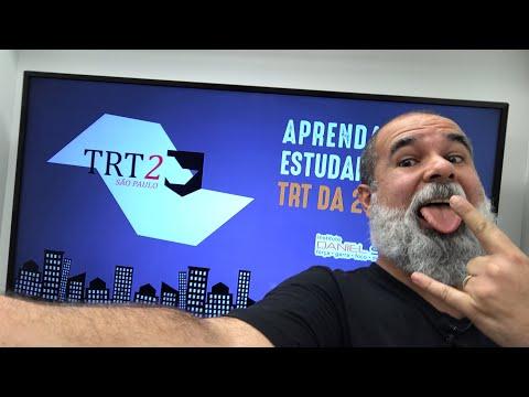 Como estudar para o TRT 2?