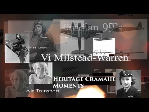Heritage Cramahe Moment  the Vi Milstead story