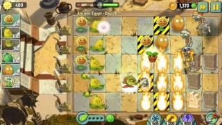 Цель близка! | Растения против Зомби 2 Древний Египет: 20 уровень