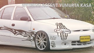 Hyundai Accent Yumurta Kasa Virtual Car Tuning | Adobe Photoshop Cs6