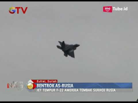 Bentrok AS-Rusia, Pesawat Tempur AS Tembakan Flare ke Sukhoi Rusia - BIP 16/12