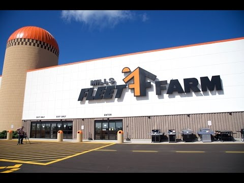 Tour of the New Hermantown Mills Fleet Farm