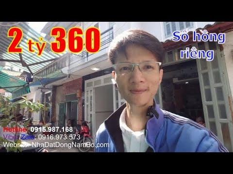 Video nhà bán quận Bình Tân dưới 3 tỷ mới nhất 2021, đường số 20 Bình Hưng Hòa A