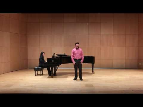 "Aram Peers Performing ""Ilona"" from ""She Loves Me"""